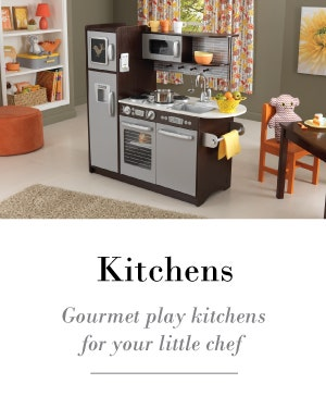 Play kitchen for your budding little chef.